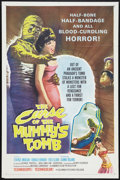 "Movie Posters:Horror, The Curse of the Mummy's Tomb (Columbia, 1964). One Sheet (27"" X 41""). Horror.. ..."