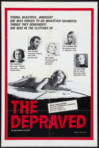 """The Depraved (Group 1, 1976). One Sheet (27"""" X 41""""). Adult"""