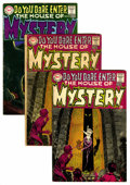 Bronze Age (1970-1979):Horror, House of Mystery Box Lot (DC, 1968-83) Condition: Average GD/VG....