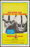 """Movie Posters:Sports, Paper Lion (United Artists, 1968). Window Card (14"""" X 22""""). Sports.. ..."""