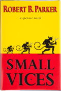 Books:Signed Editions, Robert B. Parker. Small Vices. New York: G. P. Putnam's Sons, [1997]. First edition. Signed by the author on the t...