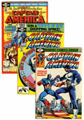 Modern Age (1980-Present):Superhero, Captain America Short Box Group (Marvel, 1977-89) Condition:Average VF/NM....