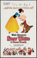 """Movie Posters:Animation, Snow White and the Seven Dwarfs Lot (Buena Vista, R-1967). Window Cards (2) (14"""" X 22""""). Animation.. ... (Total: 2 Items)"""