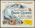 "Movie Posters:Animated, The Snow Queen Lot (Universal, 1960). Half Sheet (22"" X 28"") andTheater Window Card (14"" X 22""). Animated.. ... (Total: 2 Items)"