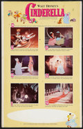 "Movie Posters:Animated, Cinderella (Buena Vista, R-1965). Window Card (14"" X 22"").Animated.. ..."