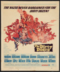"Movie Posters:War, The Dirty Dozen (MGM, 1967). Window Card (14"" X 16.5""). War.. ..."