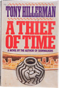 Books:Signed Editions, Tony Hillerman. A Thief of Time. A Novel. New York, et al.: Harper and Row, Publishers, [1988]. First edition. ...