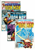 Modern Age (1980-Present):Superhero, Iron Man Short Box Group (Marvel, 1983-94) Condition: AverageVF/NM....