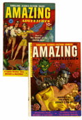 Golden Age (1938-1955):Science Fiction, Amazing Adventures #4 and 5 Group (Ziff-Davis, 1952) Condition:Average VG.... (Total: 2 Comic Books)