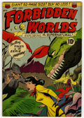 Golden Age (1938-1955):Science Fiction, Forbidden Worlds #3 (ACG, 1951) Condition: FN-....