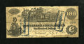 Confederate Notes:1862 Issues, CT-39/290 Counterfeit $100 1862. . . ...
