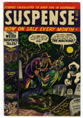 Golden Age (1938-1955):Horror, Suspense #15 (Atlas, 1952) Condition: FN-....