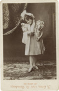 Photography:Cabinet Photos, Actress and Inventor Florence Lawrence Cabinet Card with lowermargin imprinted by photographer J. Gross of St. Louis, Misso...