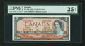 Canadian Currency: , BC-30b $2 Devil's Face 1954. ...