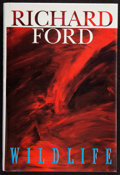 Books:Signed Editions, Richard Ford. Wildlife. New York: The Atlantic Monthly Press, [1990]. First edition. Signed by the author on the...