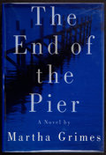 Books:Signed Editions, Martha Grimes. The End of the Pier. New York: Alfred A. Knopf, 1992. First edition. Signed by the author on the...