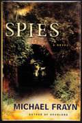 Books:Signed Editions, Michael Frayn. Spies. A Novel. New York: Metropolitan Books / Henry Holt and Company, [2002]. First edition. S...