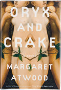 Books:Signed Editions, Margaret Atwood. Oryx and Crake. A Novel. New York, et al.: Nan A. Talese / Doubleday, [2003]. First edition in ...