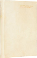 Books:First Editions, Rupert Brooke. The Collected Poems of Rupert Brooke. London:Philip Lee Warner, Publisher to the Medici Society, 191...