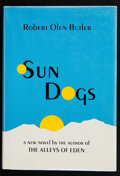 Books:Signed Editions, Robert Olen Butler. Sun Dogs. New York: Horizon Press, [1982]. First edition. Signed by the author on the title ...