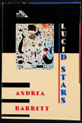 Books:Signed Editions, Andrea Barrett. Lucid Stars. [New York]: Delta Fiction, [1988]. First edition. Signed by the author on the title...