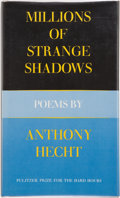 Books:Signed Editions, Anthony Hecht. Millions of Strange Shadows. Poems. New York: Atheneum, 1977. First edition. Signed by the auth...