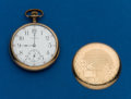 Timepieces:Pocket (post 1900), Waltham 12 Size Gold Filled Pocket Watch. ...