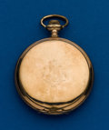 Timepieces:Pocket (post 1900), Waltham 12 Size Gold Filled Hunters Case. ...
