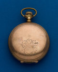 Timepieces:Pocket (post 1900), Waltham 18 Size, 17 Jewel Gold Filled Hunters Case. ...