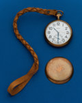 Timepieces:Pocket (post 1900), Elgin 16 Size Gold Filled Watch. ...