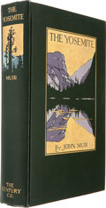 Books:First Editions, John Muir. The Yosemite. New York: The Century Co., 1912.First edition. Octavo. Thirty-two plates, three fold-out m...