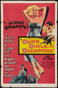 "Movie Posters:Crime, Guns, Girls and Gangsters (United Artists, 1959). One Sheet (27"" X 41""). Crime.. ..."
