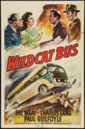 """Movie Posters:Crime, Wildcat Bus (RKO, 1940). One Sheet (27"""" X 41""""). Crime.. ..."""