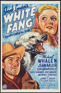 "White Fang (20th Century Fox, 1936). One Sheet (27"" X 41""). Adventure"