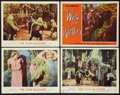 "Movie Posters:Science Fiction, The Time Machine Lot (MGM, 1960). Lobby Cards (4) (11"" X 14"").Science Fiction.. ... (Total: 4 Items)"