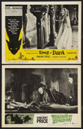 """Movie Posters:Horror, Tower of London Lot (United Artists, 1962). Lobby Cards (2) (11"""" X 14""""). Horror.. ... (Total: 2 Items)"""
