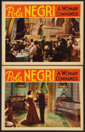 """Movie Posters:Drama, A Woman Commands (RKO, 1932). Lobby Cards (2) (11"""" X 14""""). Drama.. ... (Total: 2 Items)"""