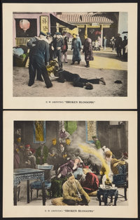 "Broken Blossoms (United Artists, 1919). Lobby Cards (2) (11"" X 14""). Drama. ... (Total: 2 Items)"
