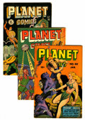 Golden Age (1938-1955):Science Fiction, Planet Comics Group (Fiction House, 1950-53).... (Total: 9 Comic Books)