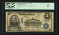 National Bank Notes:New Jersey, Phillipsburg, NJ - $5 1902 Plain Back Fr. 598 The Phillipsburg NB & TC Ch. # 1239. ...