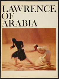 "Lawrence of Arabia (Columbia, 1962). Program (Multiple Pages, 9"" X 12""). Academy Award Winners"