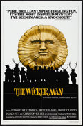 "Movie Posters:Horror, The Wicker Man (Abraxas Film, R-1979). One Sheet (27"" X 41""). Horror.. ..."