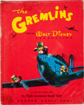 Books:First Editions, Roald Dahl. The Gremlins, From the Walt DisneyProduction. A Royal Air Force Story by Flight Lieutenant RoaldDa...