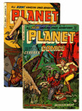 Golden Age (1938-1955):Science Fiction, Planet Comics #72 and 73 Group (Fiction House, 1953) Condition:Average GD/VG.... (Total: 2 Comic Books)