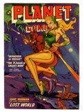Golden Age (1938-1955):Science Fiction, Planet Comics #66 (Fiction House, 1952) Condition: VG....