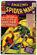 Silver Age (1956-1969):Superhero, The Amazing Spider-Man #11 (Marvel, 1964) Condition: GD/VG....