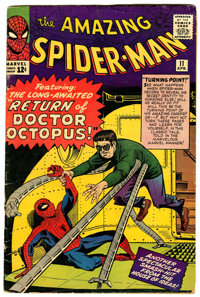 The Amazing Spider-Man #11 (Marvel, 1964) Condition: GD/VG