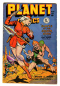 Golden Age (1938-1955):Science Fiction, Planet Comics #55 (Fiction House, 1948) Condition: VG-....