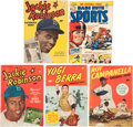 Baseball Collectibles:Publications, 1949-51 Baseball Legends Comic Books Lot of 5....