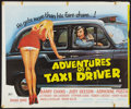 """Movie Posters:Adult, Adventures of a Taxi Driver (Alpha Films, 1976). British Quad (30"""" X 36""""). Adult.. ..."""
